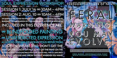 Soul Expression ∞ Power Of Paint [session 2 - August 10]