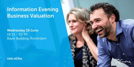 Information Evening Business Valuation - 19 June 2019 tickets