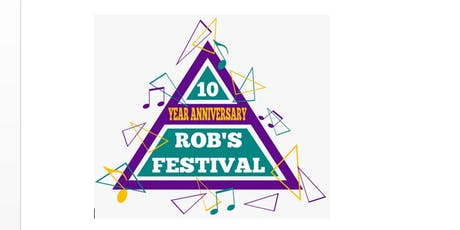 Rob's Festival 2019 tickets
