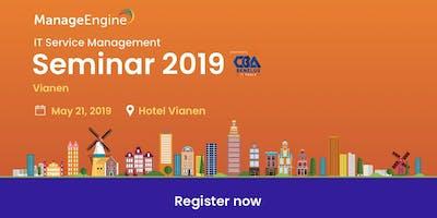 ManageEngine ITSM seminar | Vianen, NL