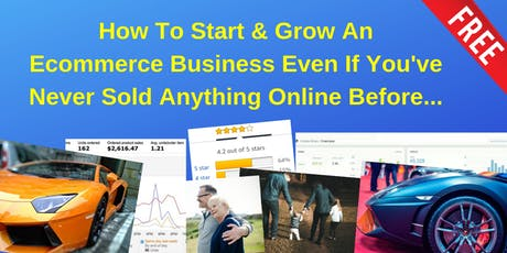 How To Start & Grow An Ecommerce Business Even If You've Never Sold Anything Online Before... billets
