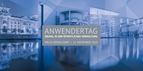 """4. Anwendertag """"Drupal in der Öffentlichen Verwaltung"""" Tickets"""