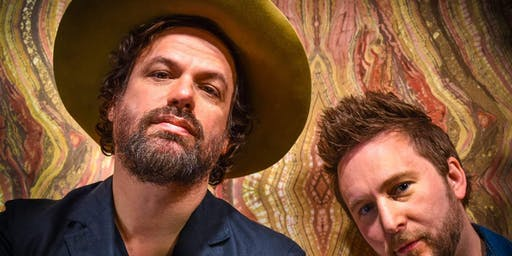 Michael Glabicki (Of Rusted Root) And Dirk Miller