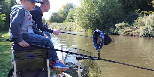 Free Let's Fish! sessions - Windmill Hill Runcorn - Learn to Fish Sessions