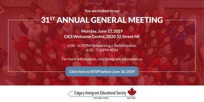 CIES 31st Annual General Meeting
