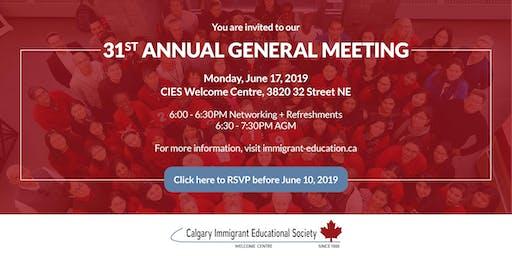 CIES 31st Annual General Meeting