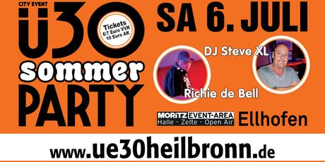 Ü30 Sommer Party Ellhofen Tickets
