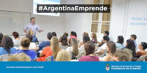 """AAE en Club de Emprendedores- Taller de """"Desarrollo de Ideas""""- General Pico, Prov. La Pampa."""