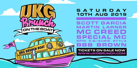 UKG Brunch ON THE BOAT tickets