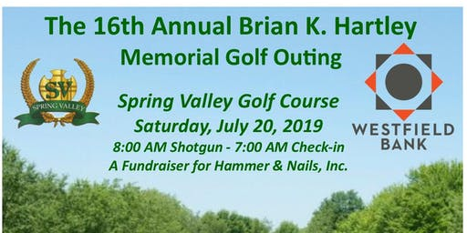 Annual Golf Outing benefiting Hammer & Nails