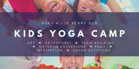 Kids Yoga Camp ~ For 4 - 12 years old tickets