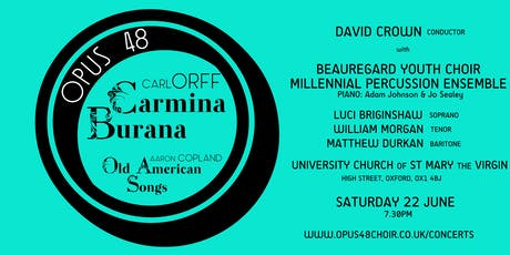 Opus 48: Carmina Burana tickets