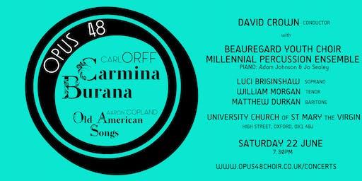 Opus 48: Carmina Burana