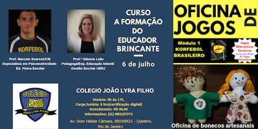 Curso: A Formação do Educador Brincante - Rio de Janeiro