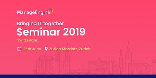 ManageEngine IT Management Seminar | Switzerland
