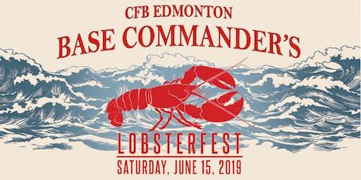CFB Edmonton Base Commander's Lobsterfest