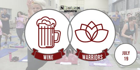 Wine & Warriors: July 19 tickets