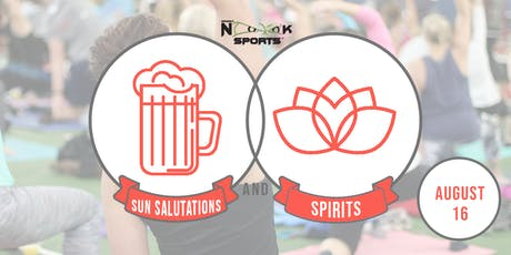 Sun Salutations & Spirits: Aug. 16 tickets