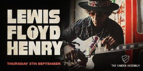 Lewis Floyd Henry tickets