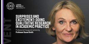 Professorial Inaugural Lecture by Professor Susan Smith