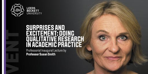 Professorial Inaugural Lecture by Professor Susan Smith