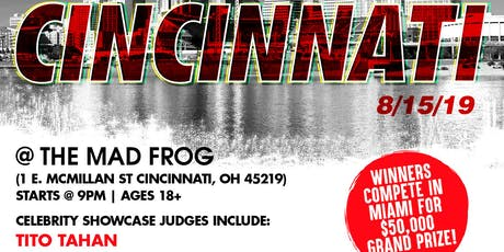 Coast 2 Coast LIVE Artist Showcase Cincinnati, OH - $50K Grand Prize tickets