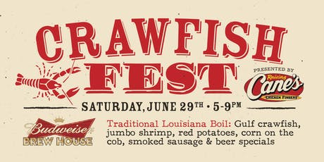 Crawfish Festival tickets