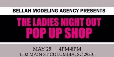 The Ladies Night Out Pop Up Shop