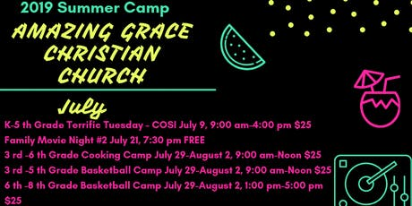 3rd-6th Grade Cooking Camp tickets