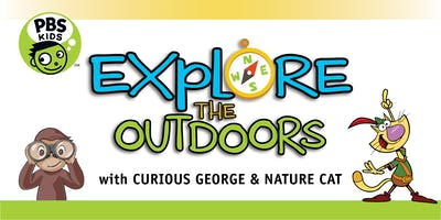 Explore the Outdoors 2019 with Curious George and Nature Cat