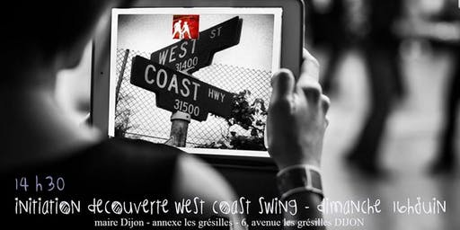 INITIATION DANSE WEST COAST SWING (MODERN SWING)
