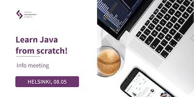 [FREE] Become a Junior Java Developer! - info meeting HELSINKI