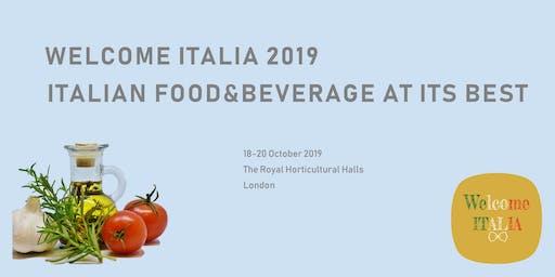 Welcome Italia 2019