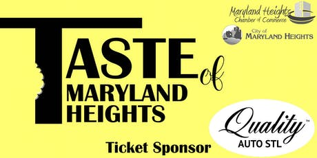 Taste of Maryland Heights tickets