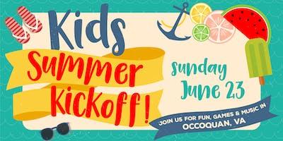 Kids Summer Kickoff!