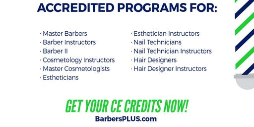 Continuing Education For The Barber & Beauty Industry (5hrs)
