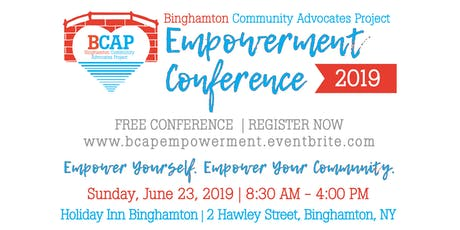 Binghamton Community Advocates Project  Empowerment Conference tickets