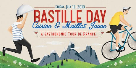 Bastille Day – Cuisine & Maillot Jaune - A Gastronomic Tour de France tickets
