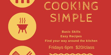 Cooking Simple Cooking Class tickets