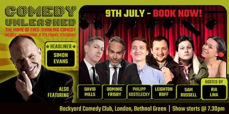 Simon Evans at Comedy Unleashed tickets