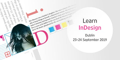 Adobe InDesign: create publications, leaflets, reports (two-day workshop) tickets