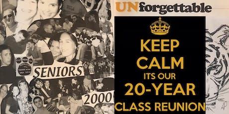 LHS CLASS OF 2000 {20 Year Reunion} tickets