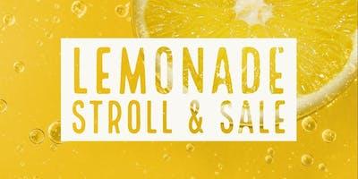 Lemonade Stroll & Sale