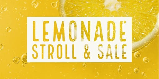 Lemonade Stroll & Sale