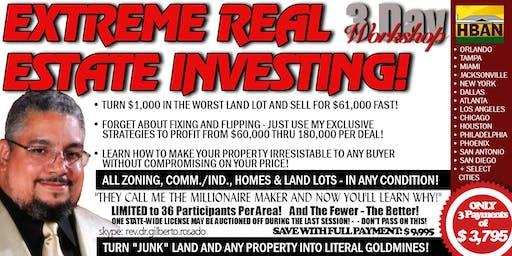 Miami Extreme Real Estate Investing (EREI) - 3 Day Seminar