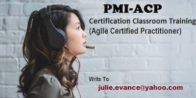 PMI-ACP Classroom Certification Training Course in Laredo, TX