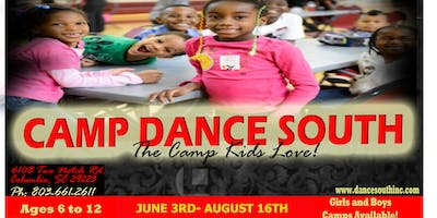 "CAMP DANCE SOUTH 2019 ""SUMMER OF ARTS"""