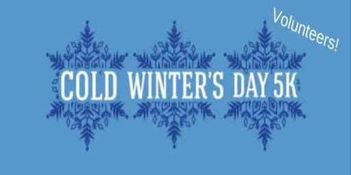 Volunteers: Cold Winter's Day 5k