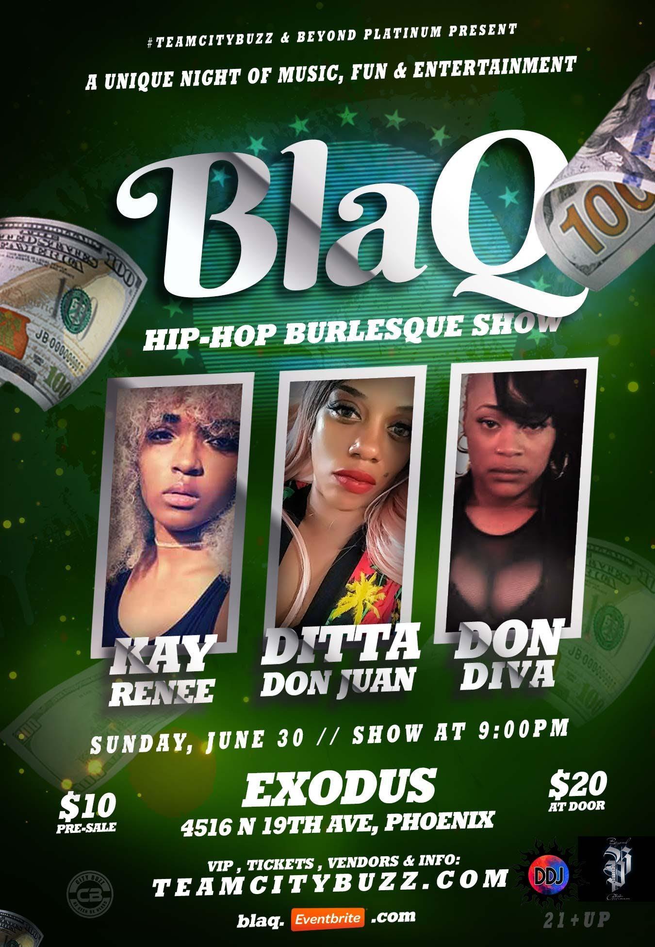 BlaQ Hip-Hop Burlesque