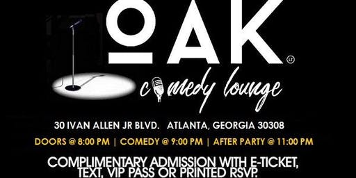 Friday Comedy @ Oak Lounge